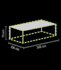 Outdoor Covers Tischschutzhülle 245x105x75cm