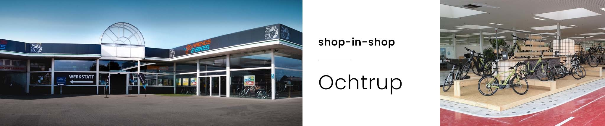 Shop in Shop Arends E-Bike Ochtrup