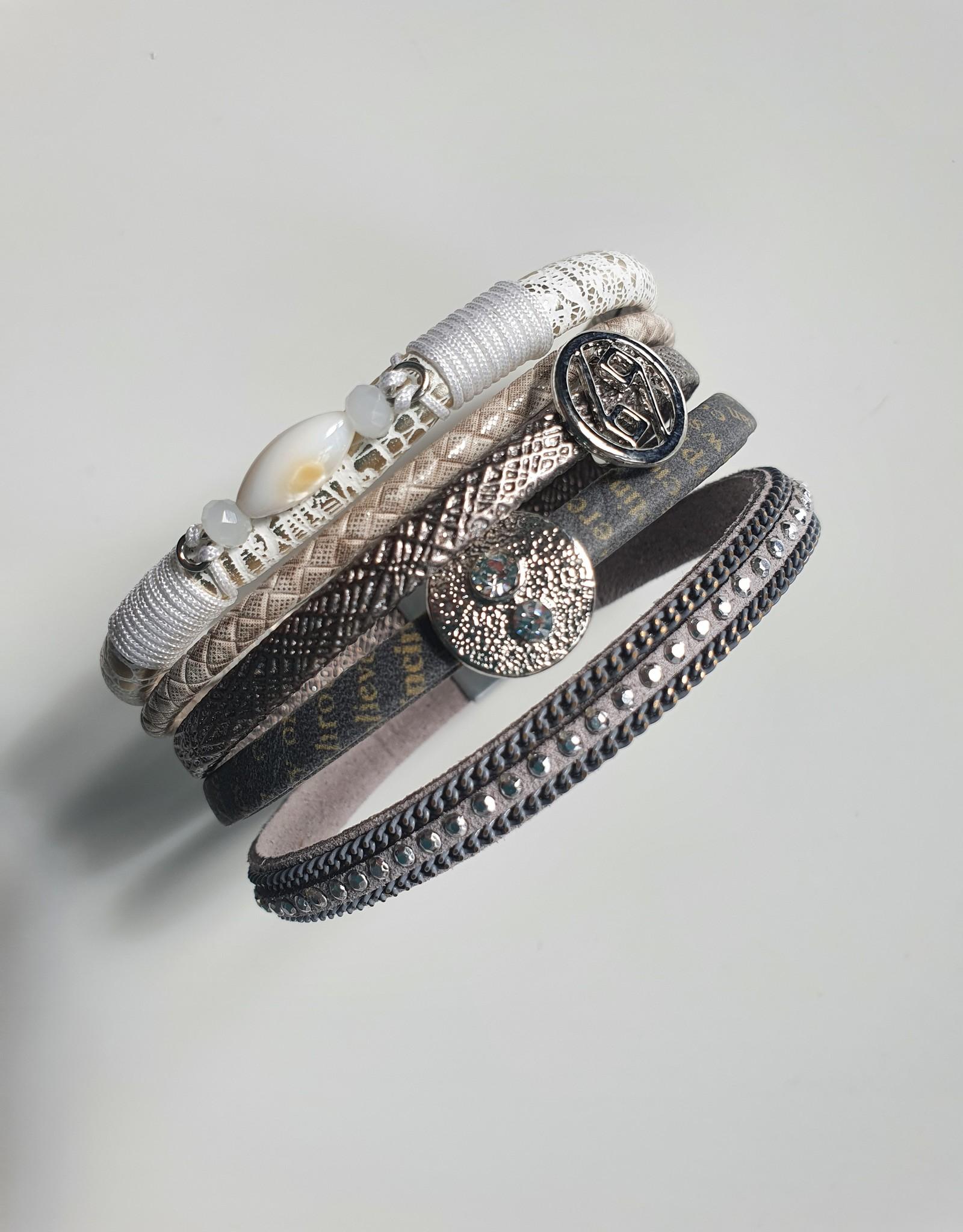 Stoere, brede armband Venetië