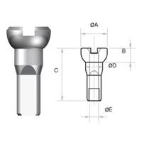 thumb-Sapim Nippel 14G - Polyax - Alu - Zwart-3