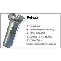 thumb-Sapim Nippel 14G - Polyax - Alu - Zwart-4