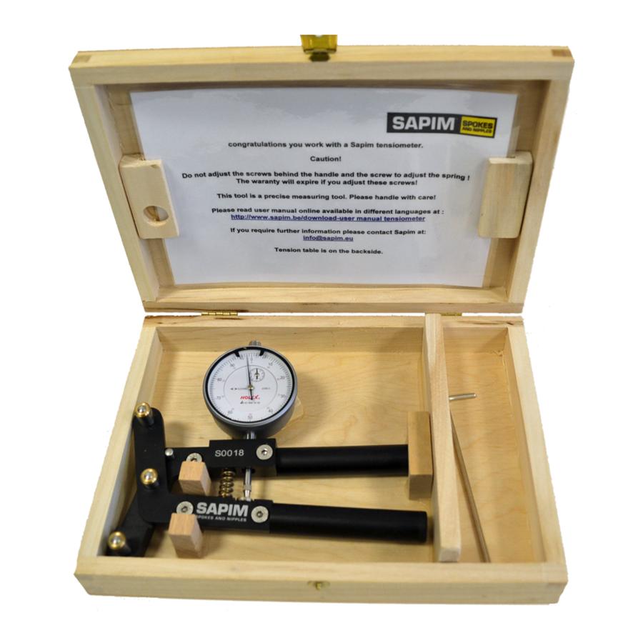 Sapim Spoke Tension Meter Speichentensiometer Analog-1