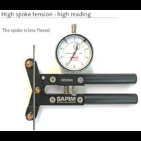 thumb-Sapim Spoke Tension Meter Speichentensiometer Analog-6