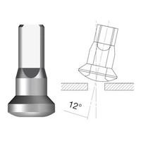 thumb-Sapim  Nippel 14G - Brass - Upside-Down - Innen Nippel-1
