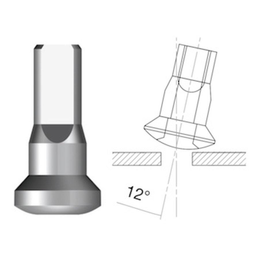 Sapim  Nippel 14G - Brass - Upside-Down - Interne Nippel-1