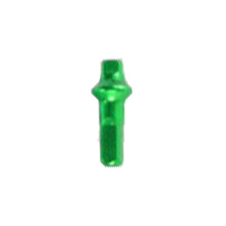 Sapim Nippel 14G - Polyax - Alu - Double Square - Giftiges Grün-1