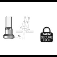 thumb-Sapim  Nippel 14G - Brass - Upside-Down - Innen Nippel - Secure Lock - Enve-1