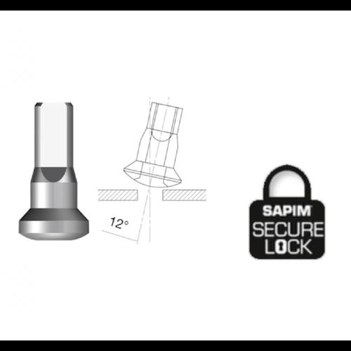 Nippel 14G - Brass - Upside-Down - Interne Nippel - Secure Lock - Enve