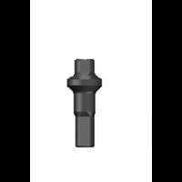 thumb-Sapim Nippel 14G - Polyax - Brass - Double Square - Black-1