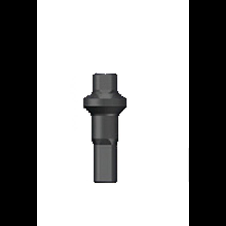 Sapim Nippel 14G - Polyax - Brass - Double Square - Black-1