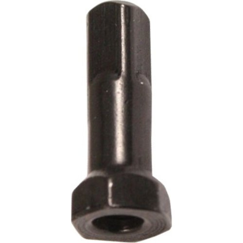 Nipple 14G - Hexa Polyax - Brass - Zwart