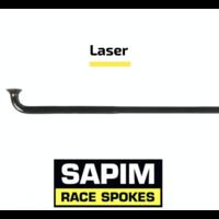 thumb-Sapim Laser 14G - Black - J-Bend - Spoke-1