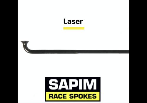 Sapim Laser 14G - Zwart - J-Bend