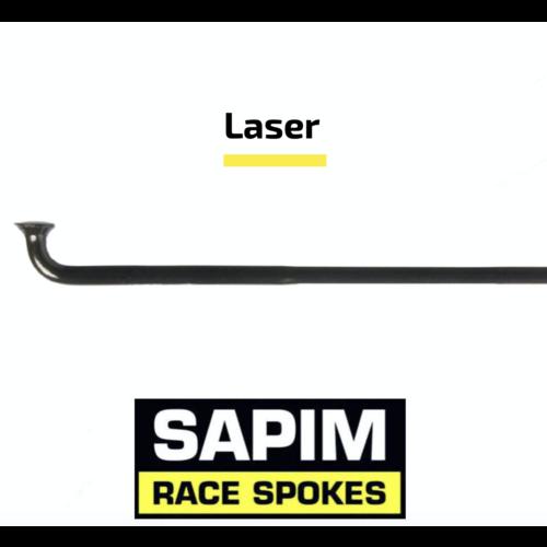 Sapim Laser 14G - Black - J-Bend