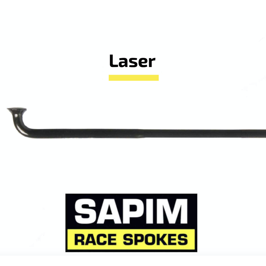 Sapim Laser 14G - Black - J-Bend - Spoke-1