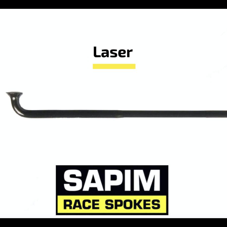 Sapim Laser 14G - Zwart - J-Bend - Spaak-1