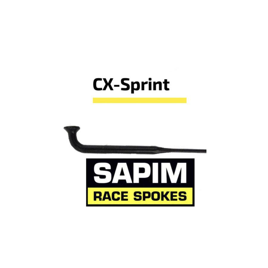 Sapim CX-Sprint Bladed 14G - Schwarz - J-Bend - Speiche-1