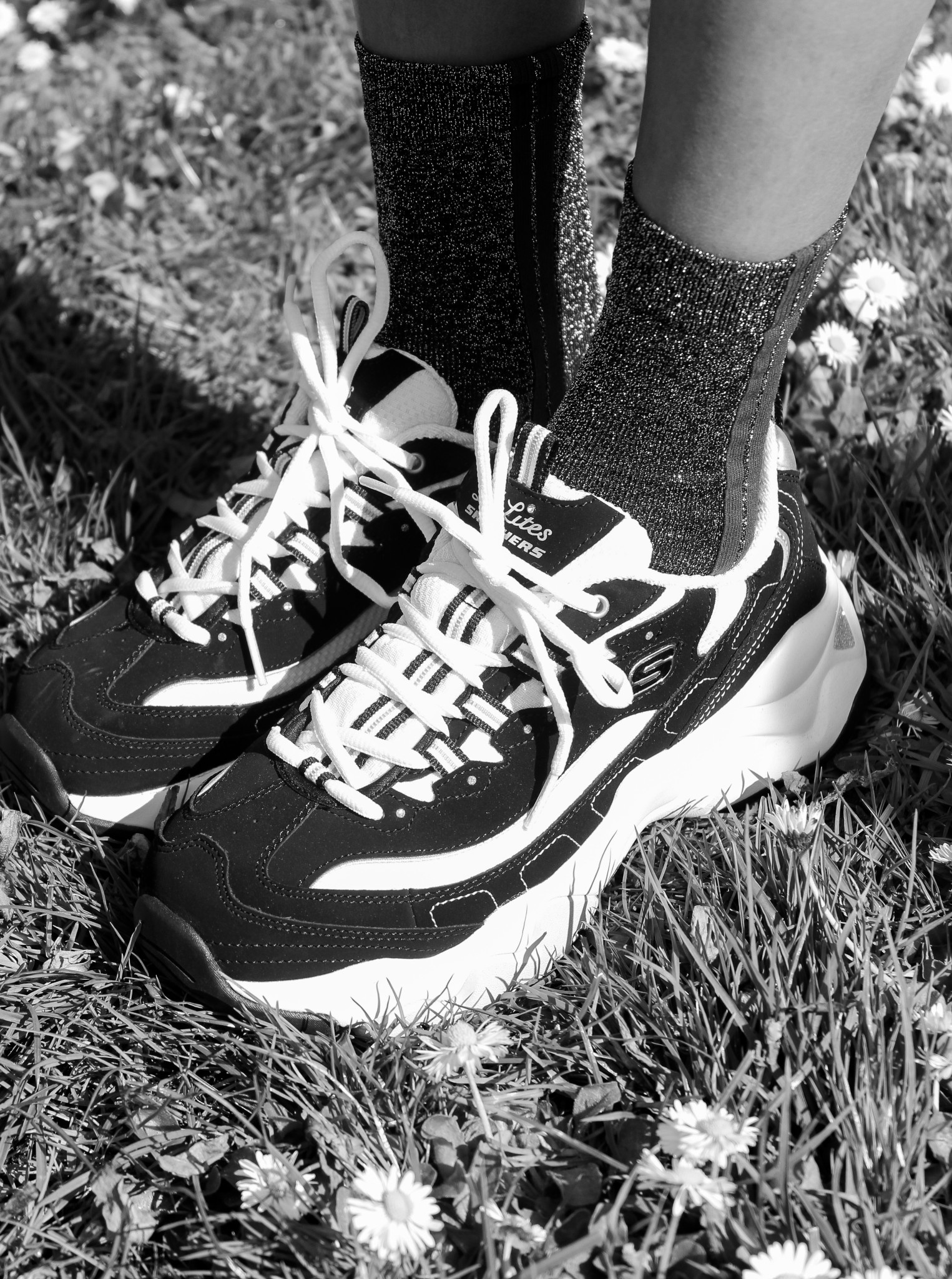 black and white skechers Sale,up to 46