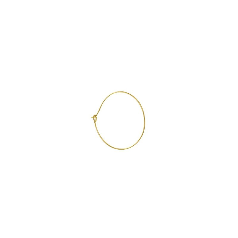 Goldfilled Hoop Thin 20mm