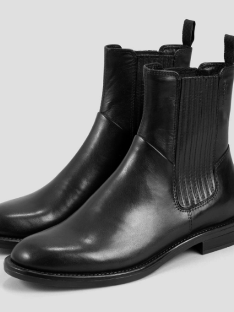newest collection 95614 aa4cd VAGABOND Amina Black Leather Boots