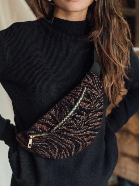 Bumbag Zebra Black/Brown