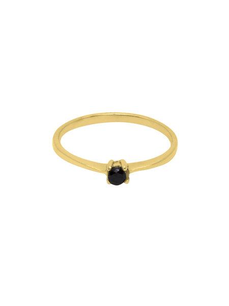 Flawed Dusk Femme Ring Gold