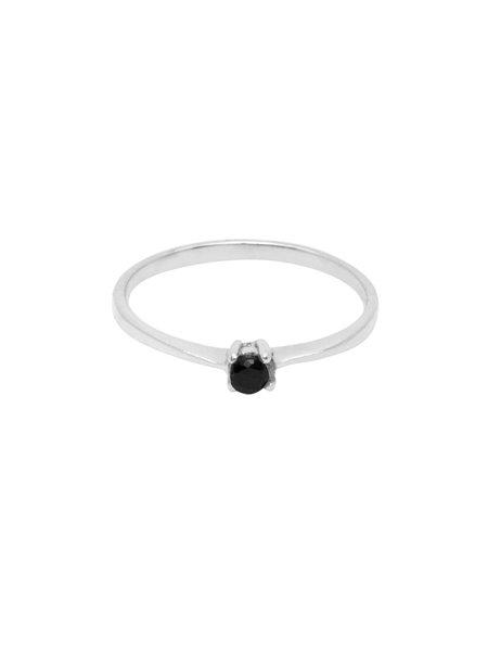 Flawed Dusk Femme Ring Silver