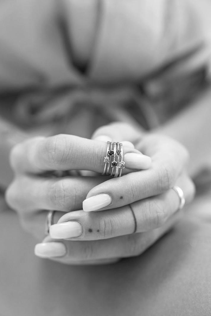 Dusk Femme Ring Silver
