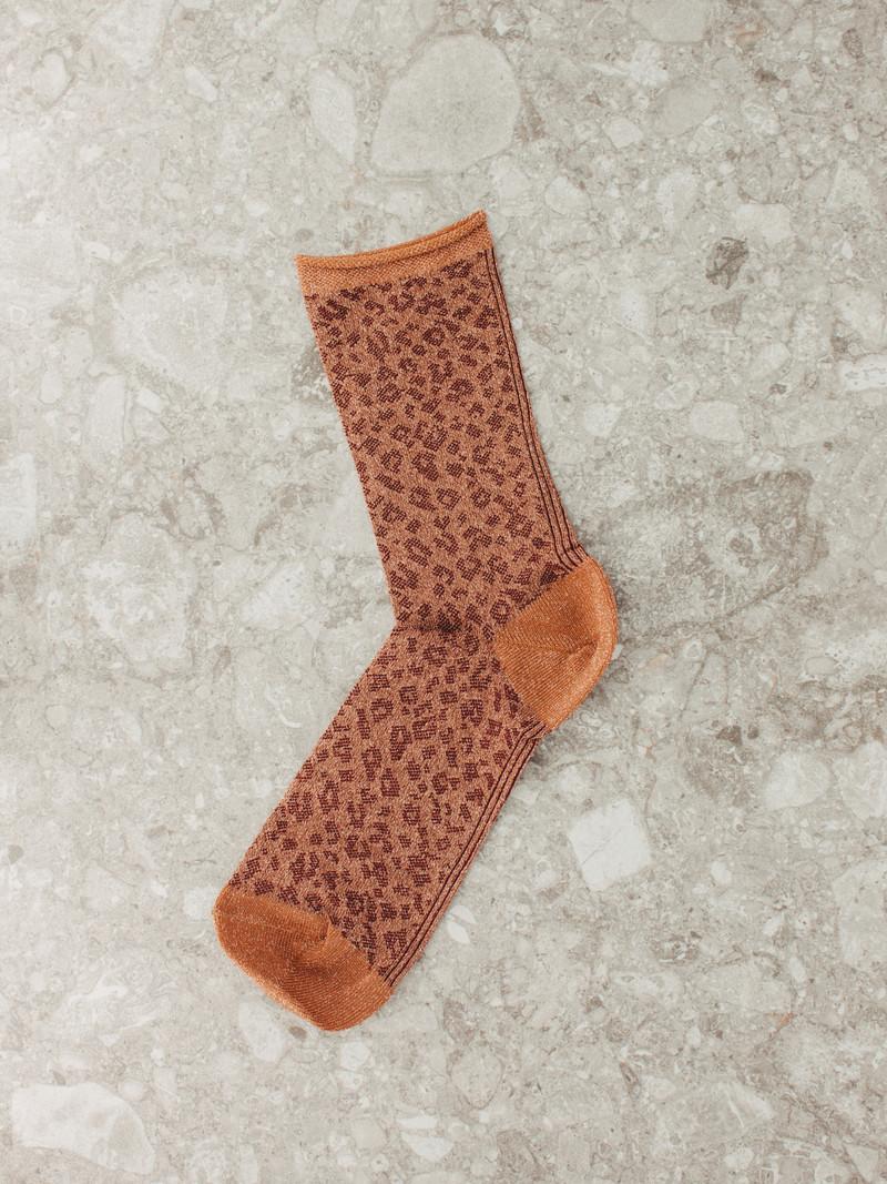 Socks Ankle Dark Honey