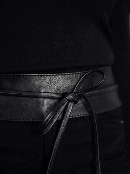 Tie Belt Black One Size