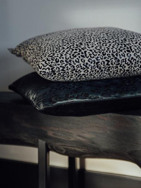 Cushion Leopard Dark Green