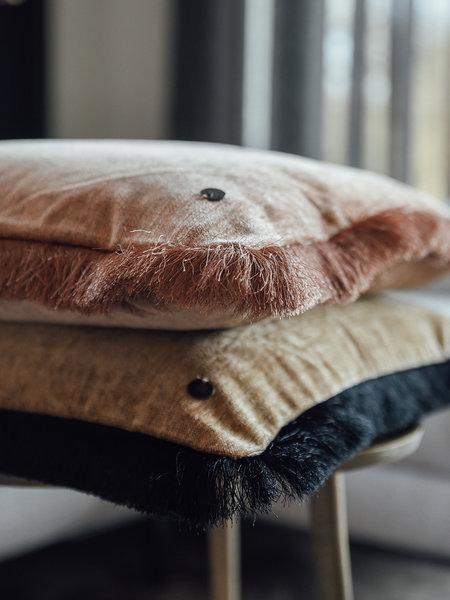 Home of textile Cushion Pure fringe 74