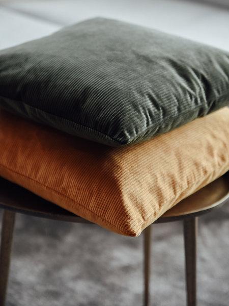 F&H Cushion Corduroy Golden