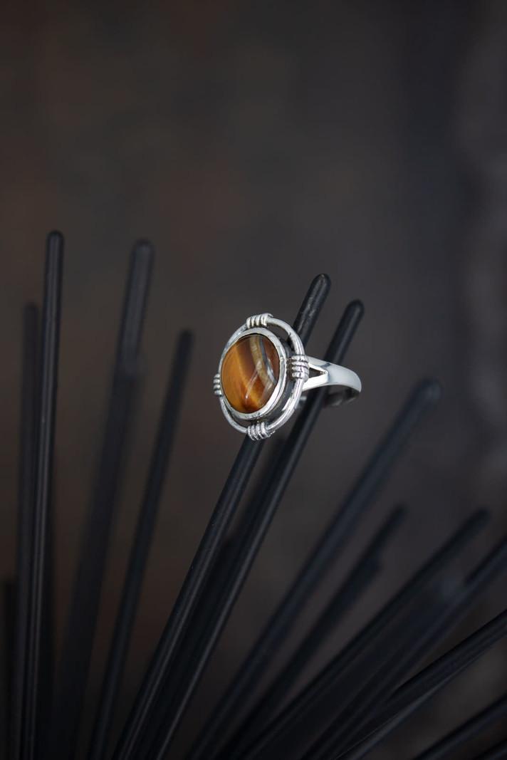 Big Stone Ring 8