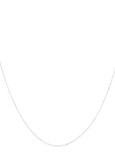 The Two Collectors Silver Rope Necklace