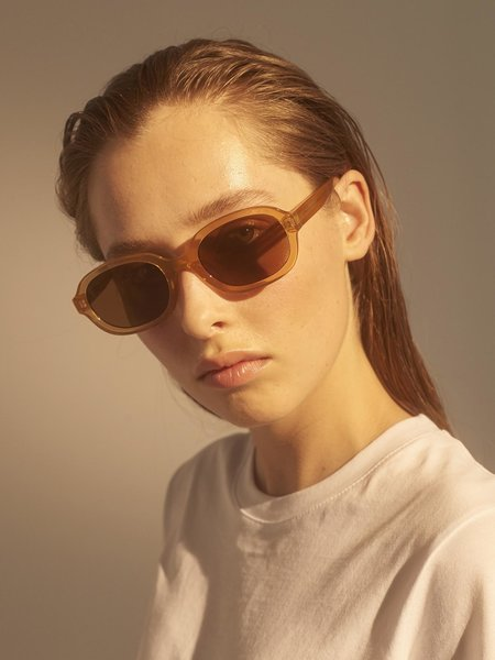 Bob Sunglasses Light Brown Transparent