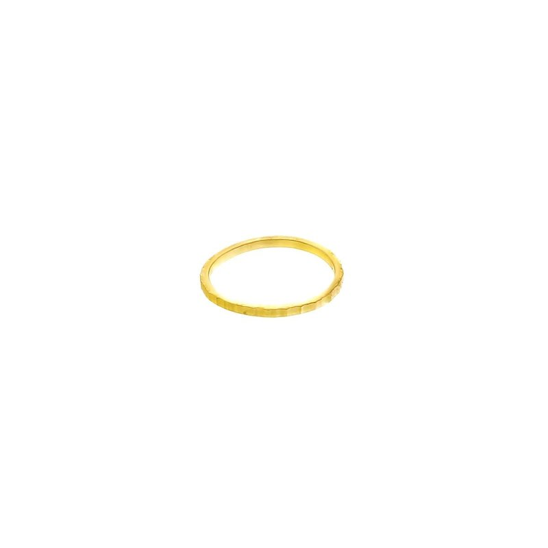 TTC Goldfilled Moonscape Ring