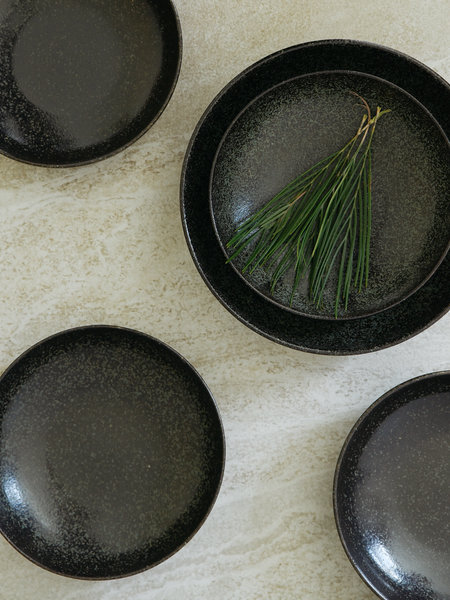 Dark Royal salad bowl
