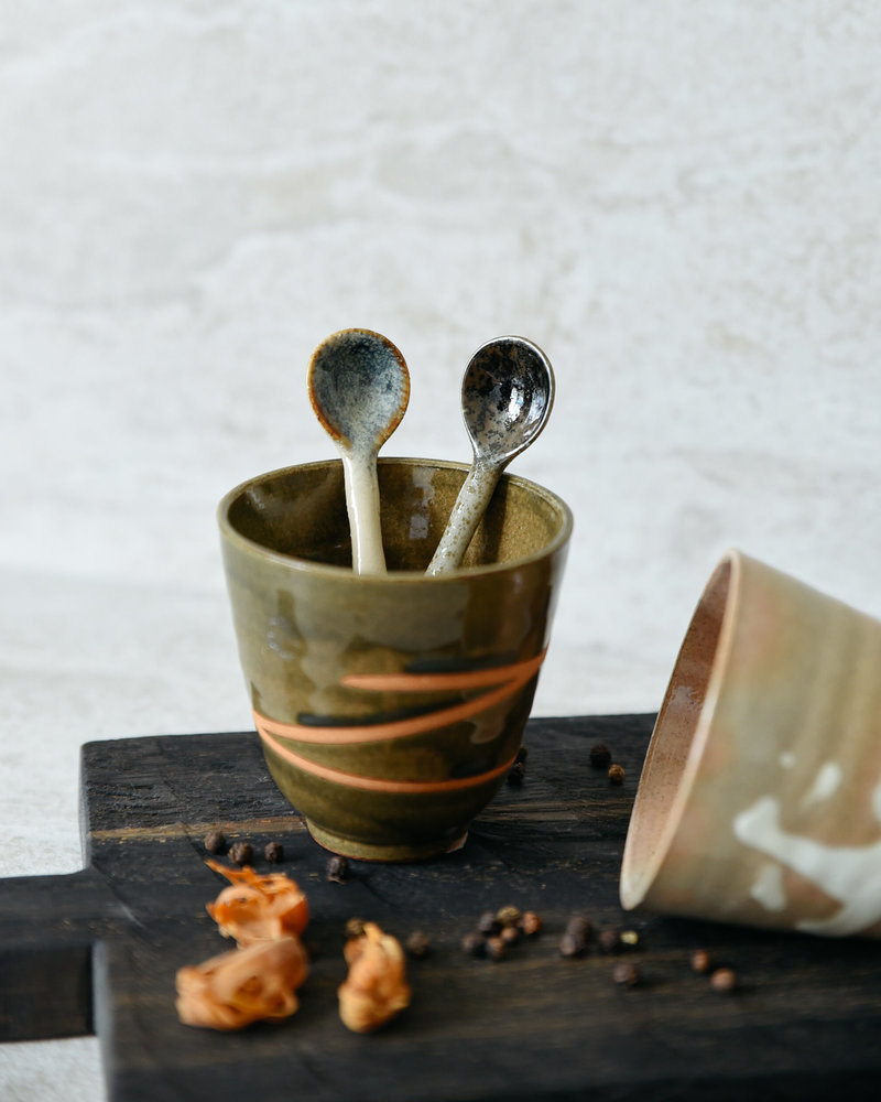 Kyoto Ceramic Japanese Spoons (SET OF 4)