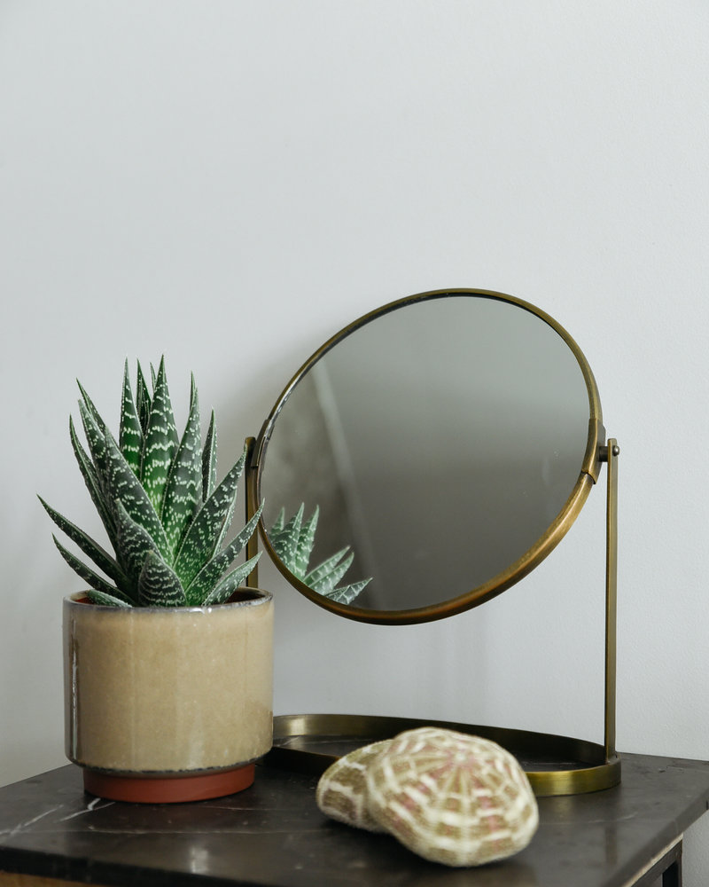 Mirror Nibia Gold