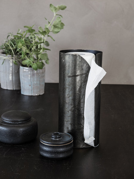 House Doctor Iron Paper Towel Stand