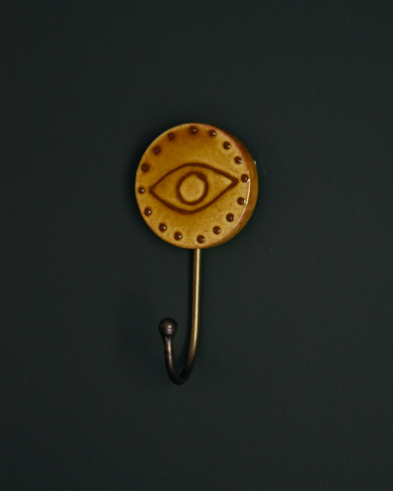 Eye Hook Mustard