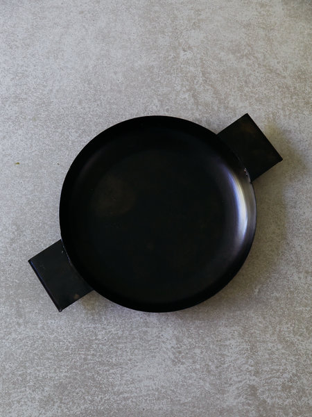 Metal Tray Brown