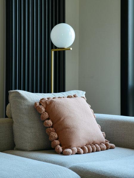 Terra Pompon Cushion