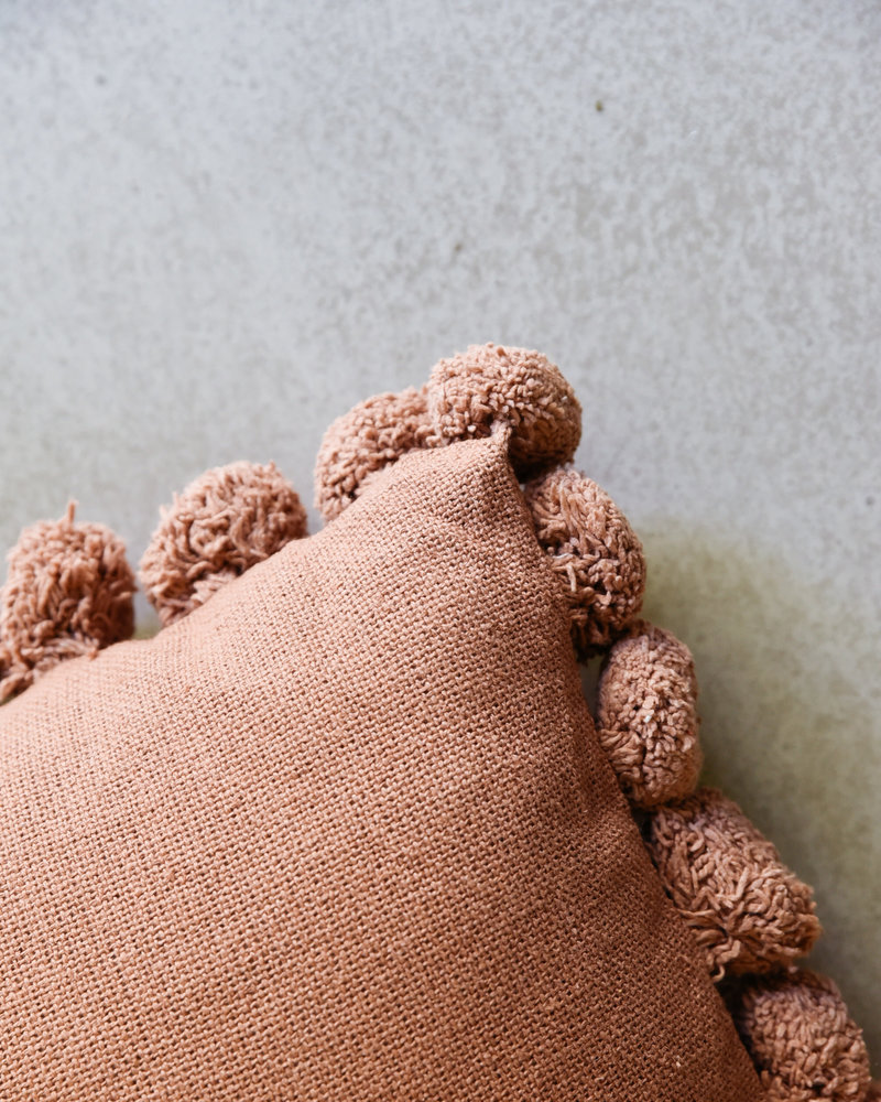 Terra Pompon Cushion