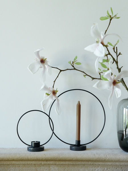 Candle Holders Metal Circle
