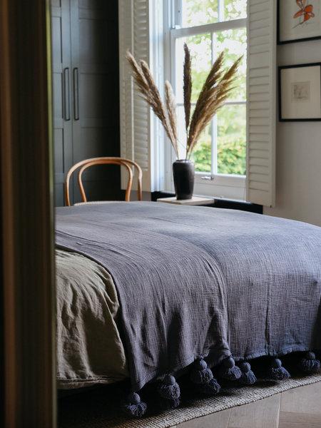 Goround Grey Bedspread