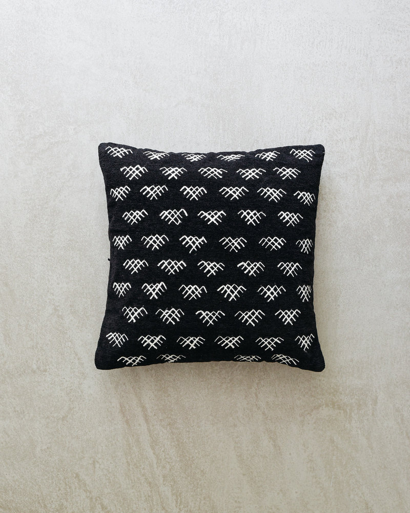 Cushion Cover Black And White