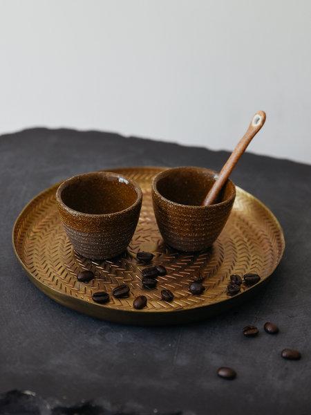 D&M Depot Yann Espresso Cup Black Brown