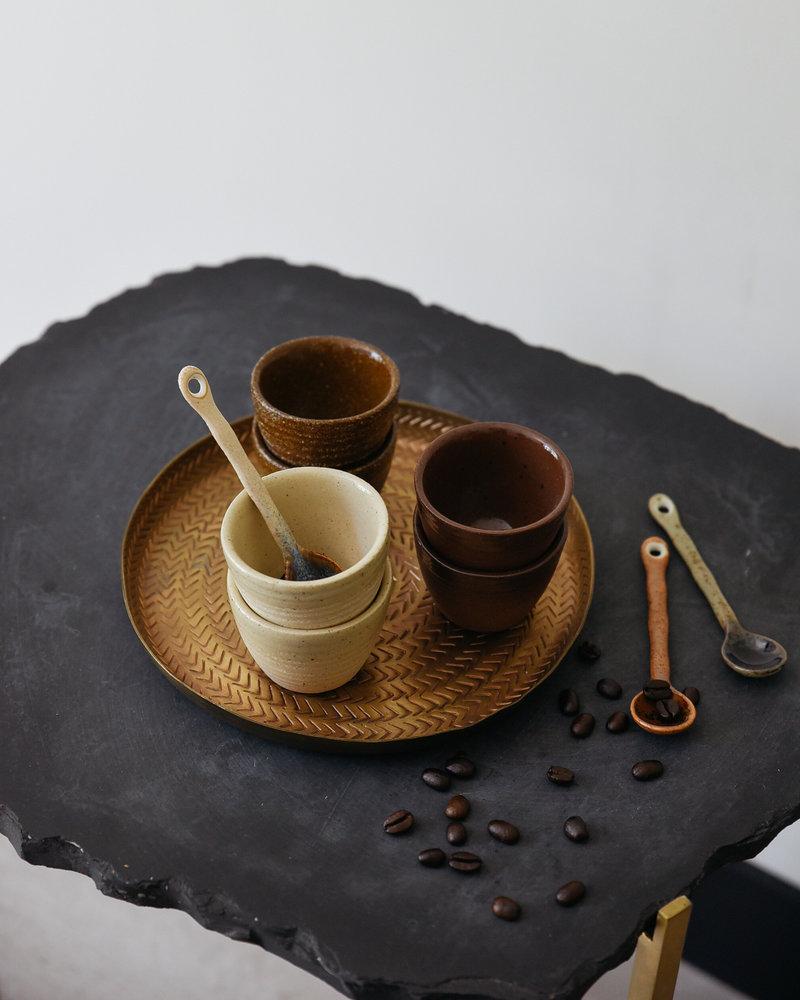 Yann Espresso Cup Black Brown
